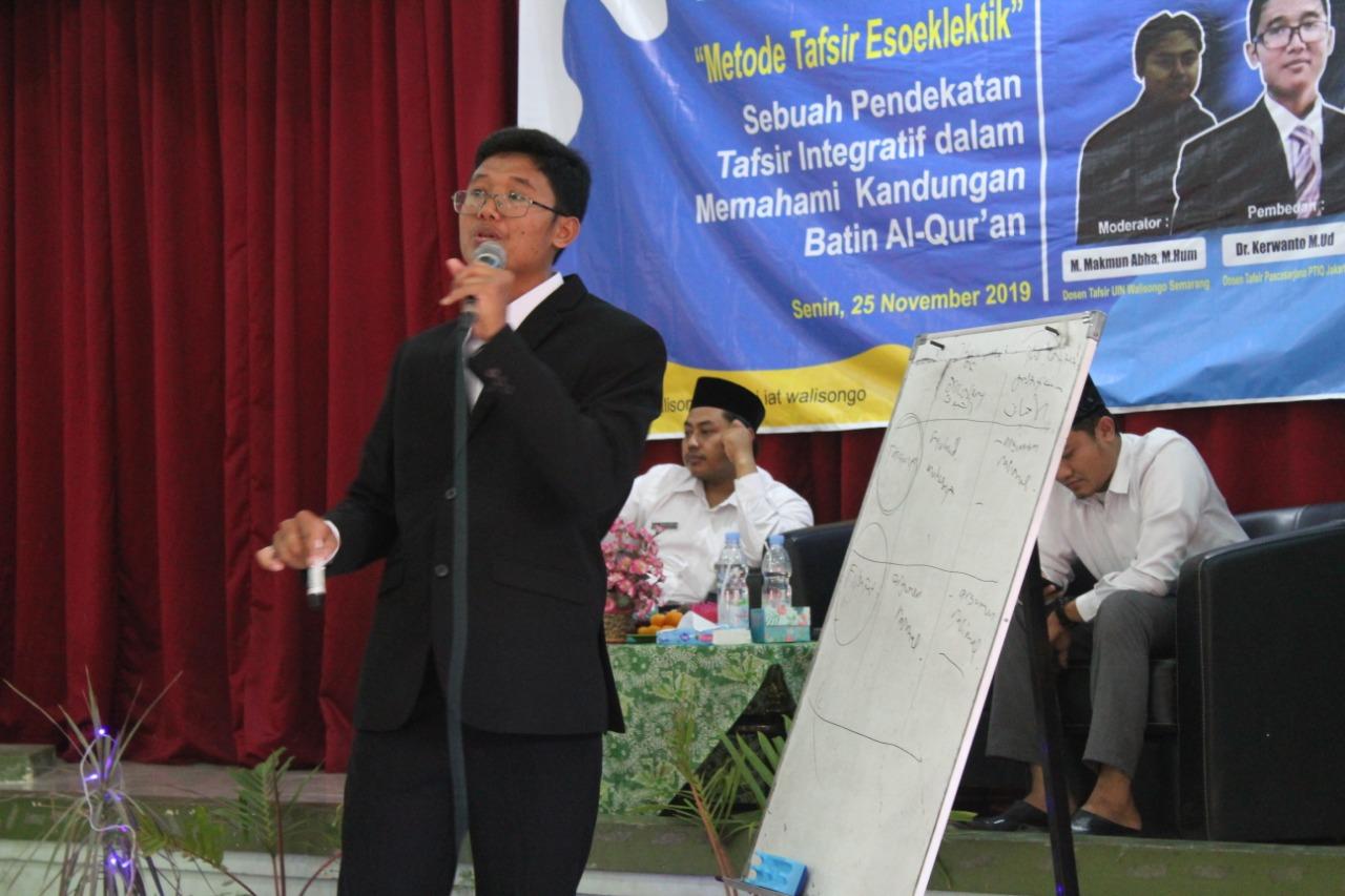 image_Metode Tafsir Esoeklektif Karya Dr. Kerwanto Dibedah di UIN Walisongo Semarang